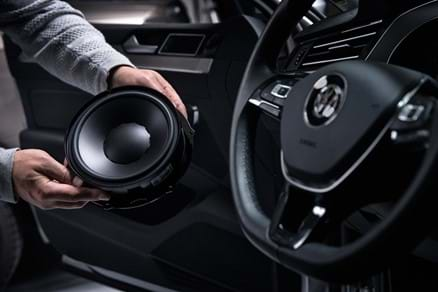 Hand driver of car audio