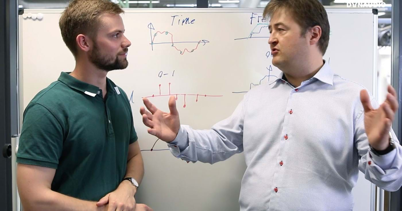 Ask the Expert with Jan Abildgaard Pedersen who talks about digital signal processing